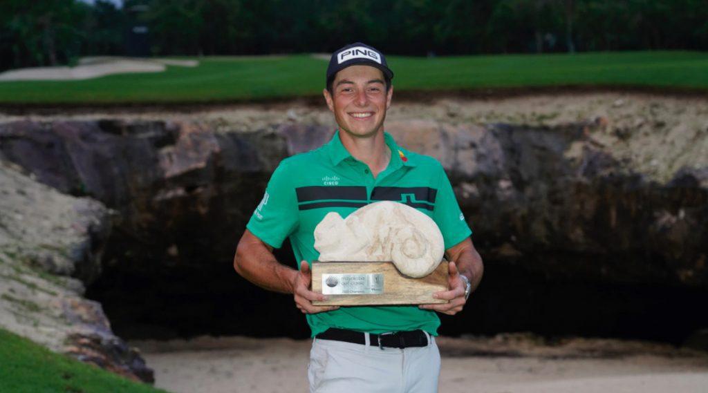 Hovland wins Mayakoba Golf Classic 2020